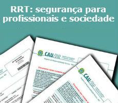 RRT Segurança para profissionais e sociedade