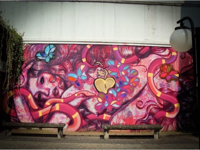 Graffiti de Panmela