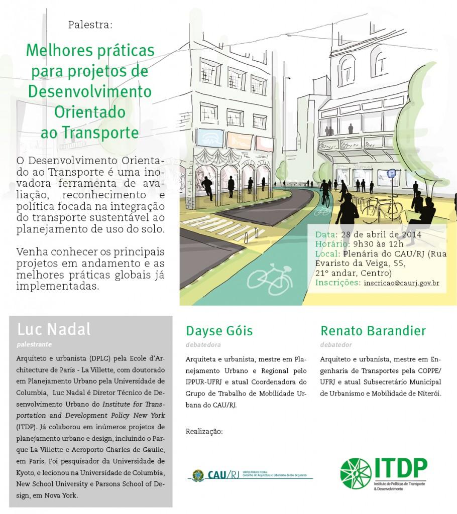 Convite CAU ITDP