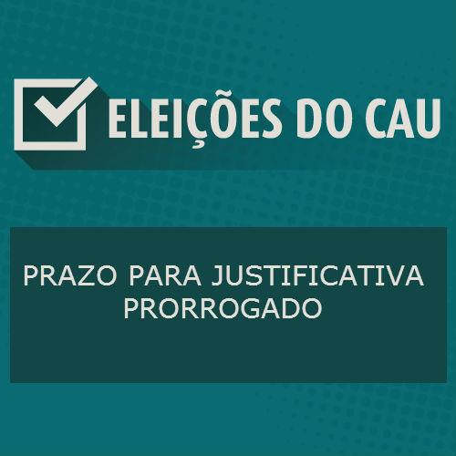 Eleições do CAU: Prazo para justificativa prorrogado